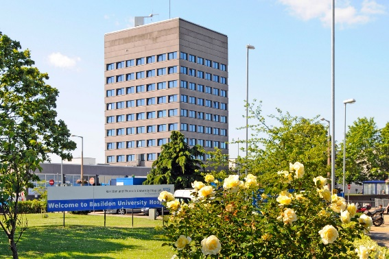 Basildon University Hospital is a highly-rated teaching hospital in south-east England
