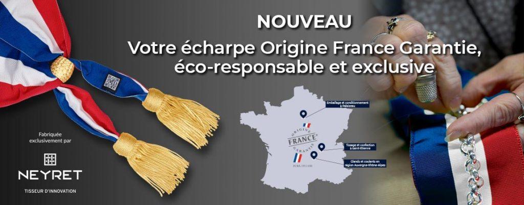 Écharpe de maire - DRAGO PARIS